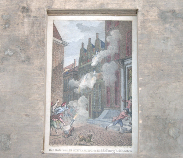 Franceso Arena - Ramp With Bombing Of Steving House (detail)