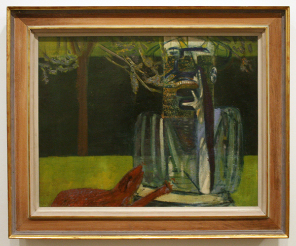 Francis Bacon - Figures in a Garden - Olieverf op canvas