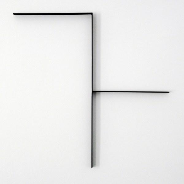 Francois Morellet - Bouche-Trou - Thermogelakt aluminium, 1996