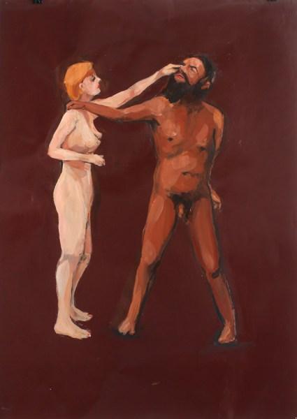 Frans van Tartwijk - Art for arts sake - 50x70cm Acryl op papier, 2014