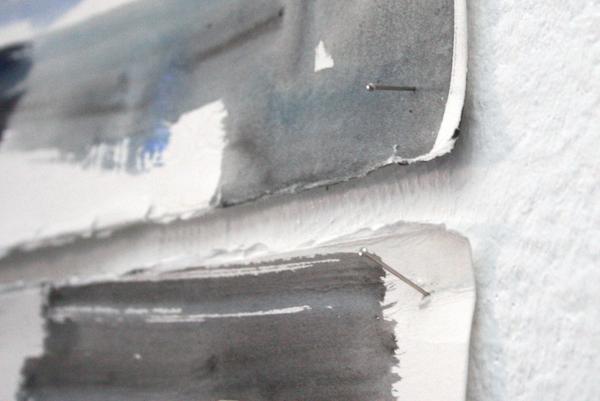 Frenk Meeuwsen - TV Diner - 203x303cm Gouache op papier (detail)
