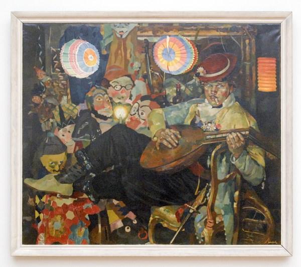 Frits Verdonk - Carnaval - 105x134cm Olieverf, verworven in 1944
