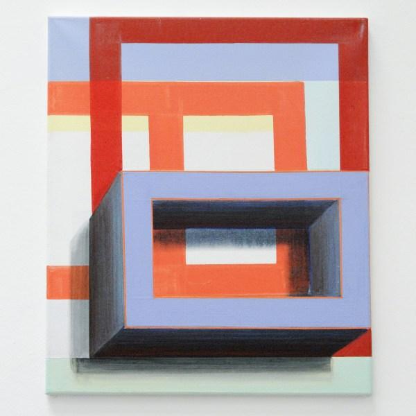 Gabrielle van de Laak - 3D Light - 60x50cm Acrylverf en pigment op katoen