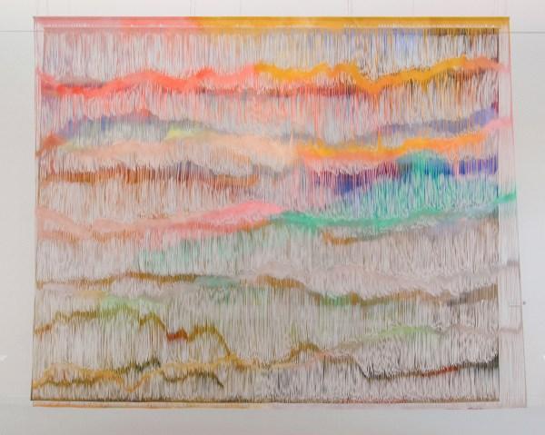 Georgia Russell - Ebb and flow - Twee versneden en beschilderde doeken