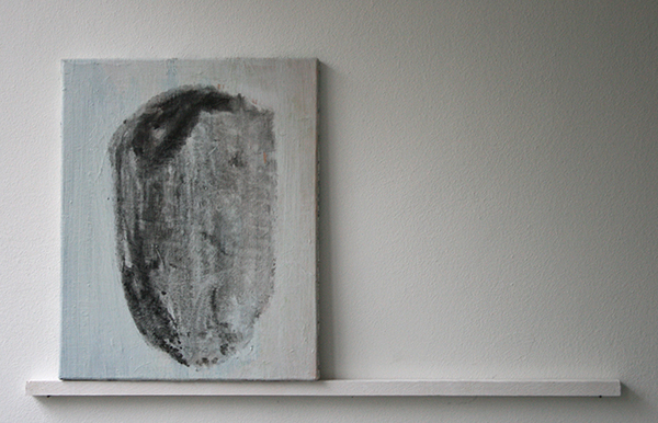 Giel Louws - Shield - 50x40cm Acrylverf op canvas, 2012