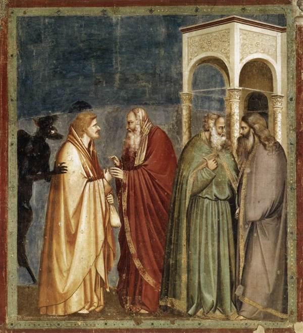 Giotto - Het verraad van Judas - Fresco