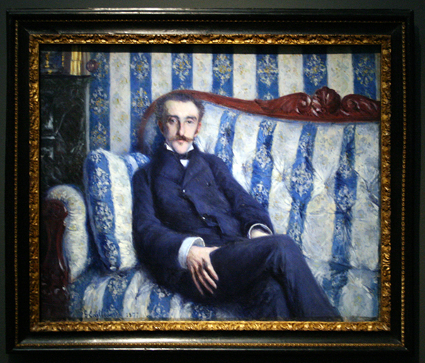 Gustave Caillebotte - Portrait de Monsieur R - Olieverf op doek 1877