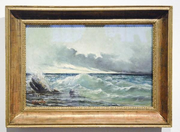 Gustave Courbet - La Vague - Olieverf op doek, 1869