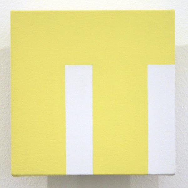Guus Koenraads - Building - 15x15x15cm Acrylverf op doek op paneel
