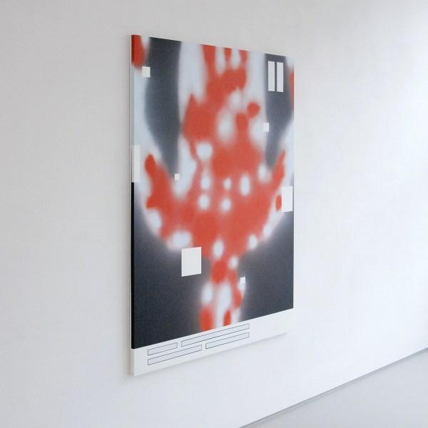 Han Schuil - Heat XIV - 165x125x3cm Alkydverf en lak op aluminium