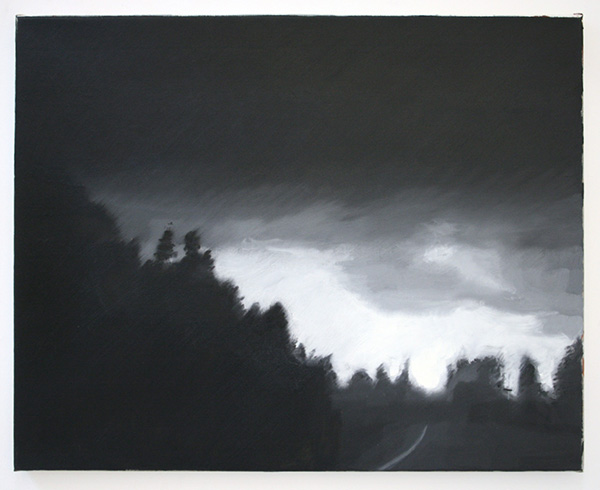 Hans Broek - Nr 101, NY - 61x67cm