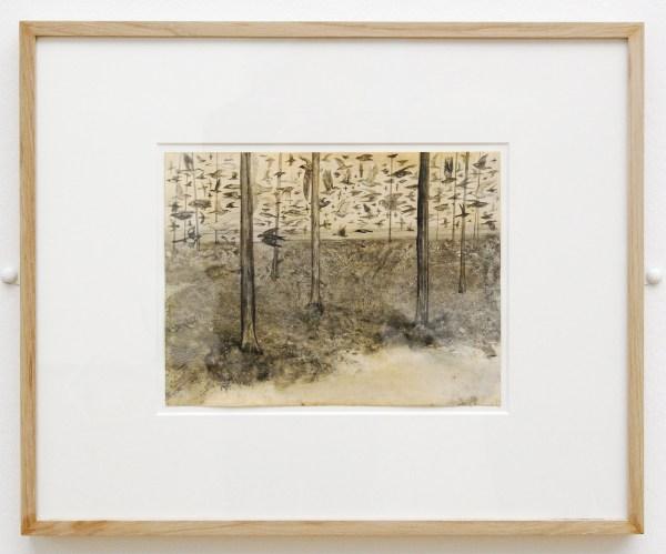 Hans Lemmen - Zonder Titel - Inkt en caseine op papier 2010-2013