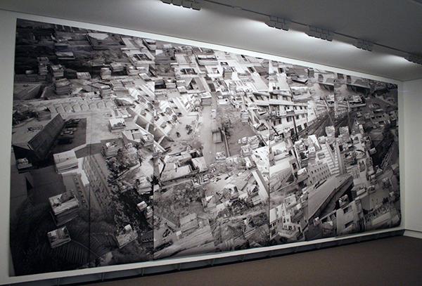 Hans Scholten - Urban Futures - Gepigmenteerde inkjetprint op vezelpapier