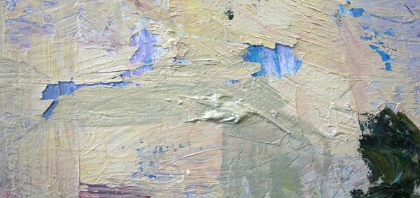 Hans de Bruijn - Panorama - Olieverf op doek (detail)
