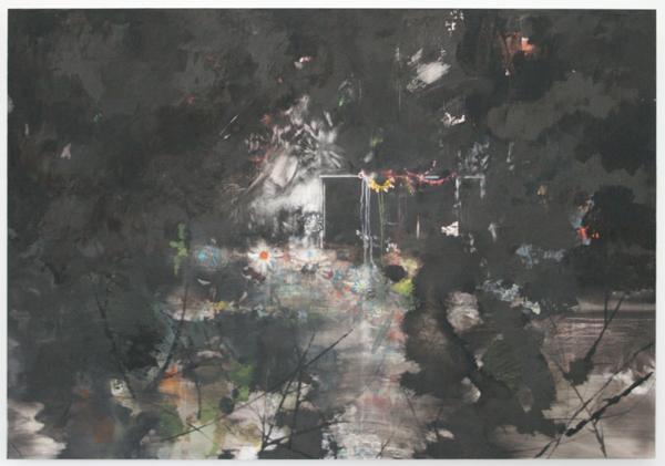 Harm van den Berg - Gardy Paty - 125x180cm Olieverf op dibond