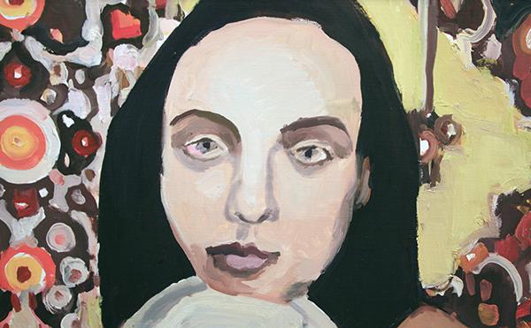 Helen Verhoeven - Mother 4 - 105x81cm Olieverf op canvas (detail)