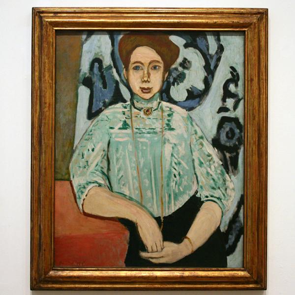 Henri Matisse - Portret van Greta Moll - Olieverf op canvas