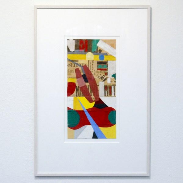 Henri Plaat - Zonder Titel - 69x41 cm Collage