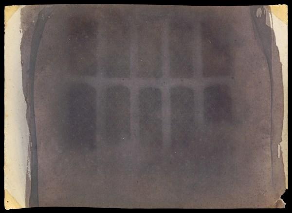 Henry Fox Talbot - Eerste fotonegatief
