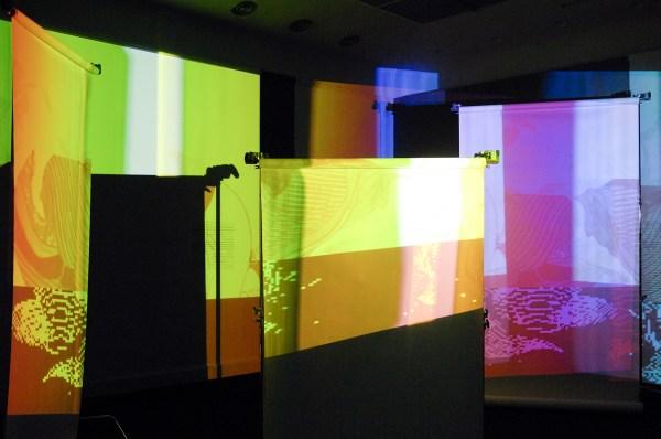 Hito Steyerl - Shunga - Installatie