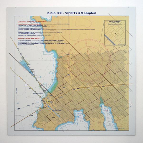Luc Deleu - DOS XXI, Vipcity #9 Adapted