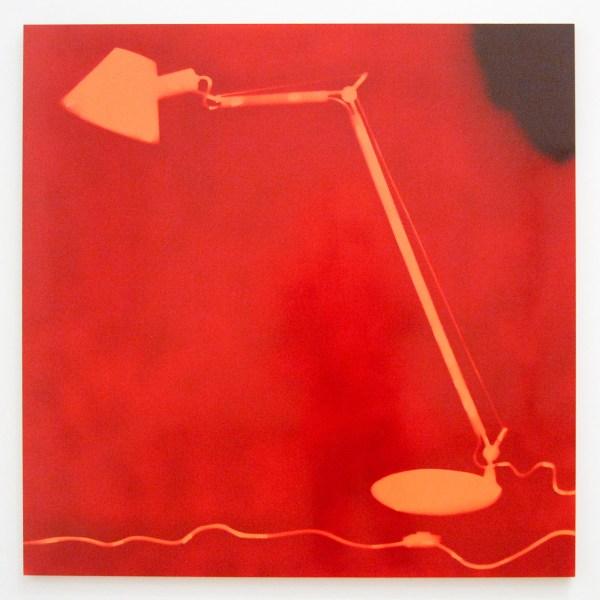 Isa Genzken - Lampe - Lakverf op aluminium