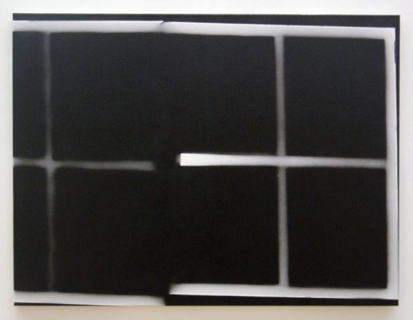 Isa Genzken - More Light Research - Lakverf op doek