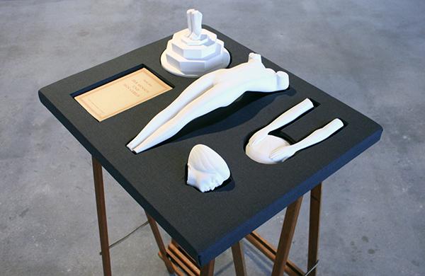 Isi Kunath - Archiv no 25,2012,O; Der Mensch un sein Gebild - 61x50x100cm Mixed Media