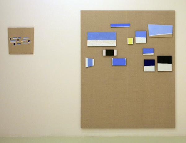 JCJ Vanderheyden - Juxtaposed - Simultaneous - Gemengde techniek op doek en paneel