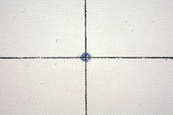 JCJ Vanderheyden - Projectie - Olieverf (en pen?) op doek (detail)