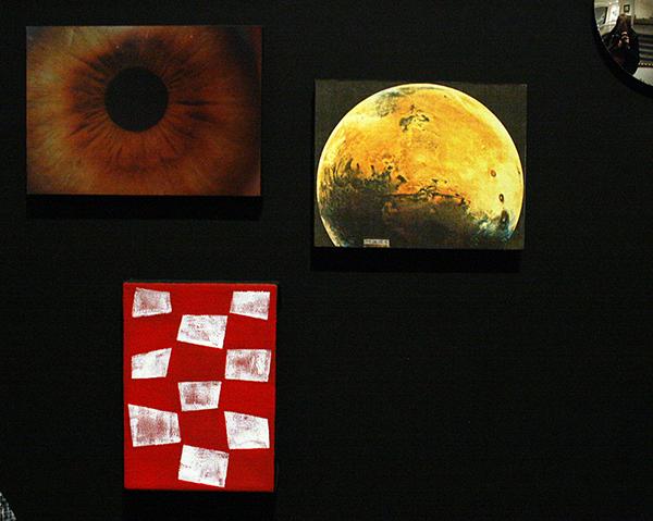 JCJ Vanderheyden - Simultaneity of Opposites - Gemengde techniek op paneel 2000 (detail)