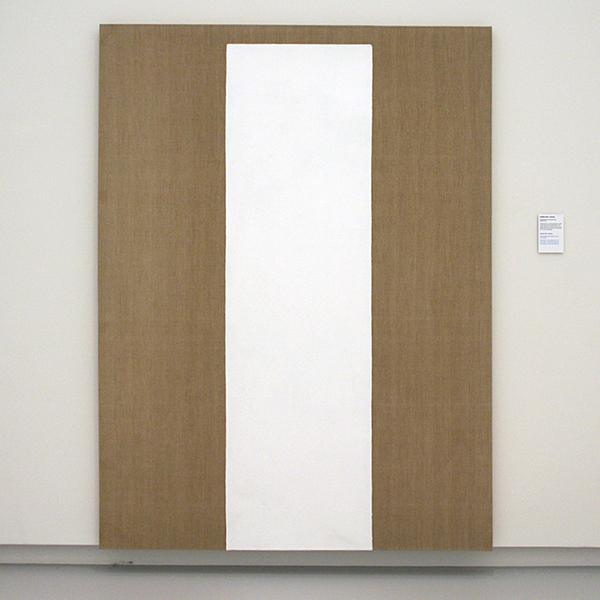 JCJ Vanderheyden - Standing White - Polyvinylacetaatverf en tempera op doek 1967-1980