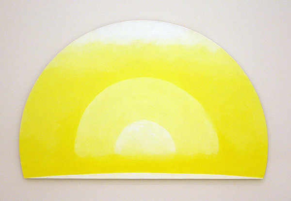 JCJ Vanderheyden - The Quality of Yello - Acrylverf op doek 2011