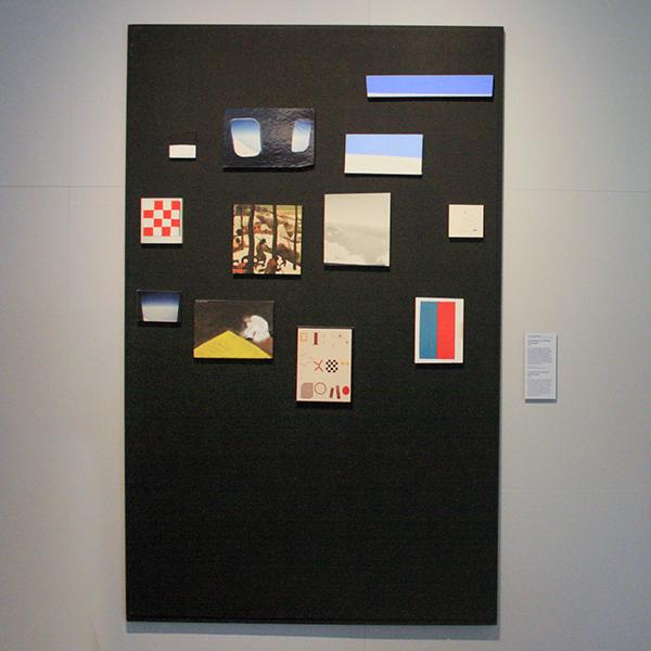JCJ Vanderheyden - Verzameling met Adriaans en Brueghel - Tempera op paneel en mixed media