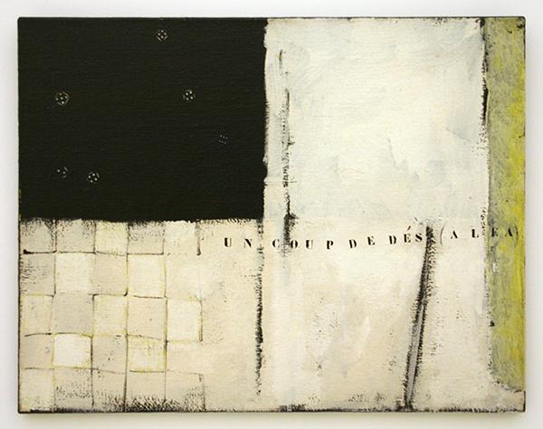 JCJ Vanderheyden - Zonder Titel - Polyvinylacetaatverf op doek 1965