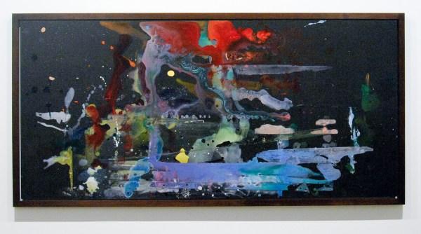 Jacco Olivier - Untitled - 80x170cm Acrylverf op paneel