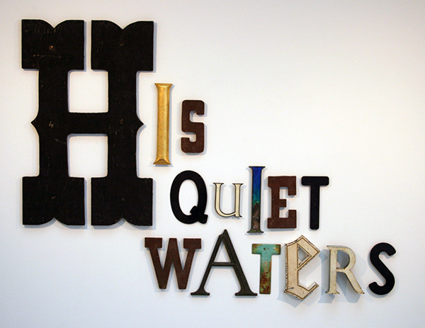 Jack Pierson - His Quiet Waters - 107x145x6cm