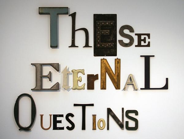 Jack Pierson - These Eternal Questions - 147x189x5cm