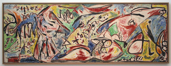 Jackson Pollock - The Water Bull (From the Accabonac Creek Series) - Olieverf op doek
