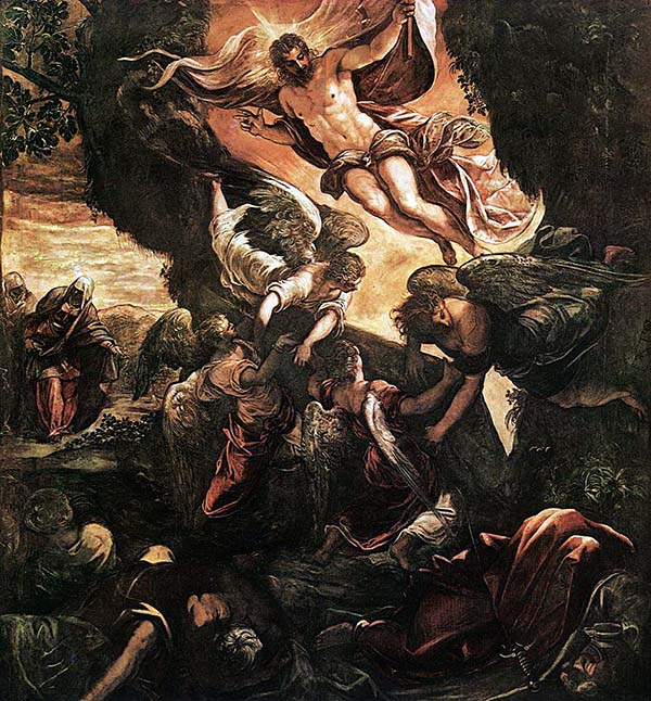 Jacopo Tintoretto - The Resurrection of Christ