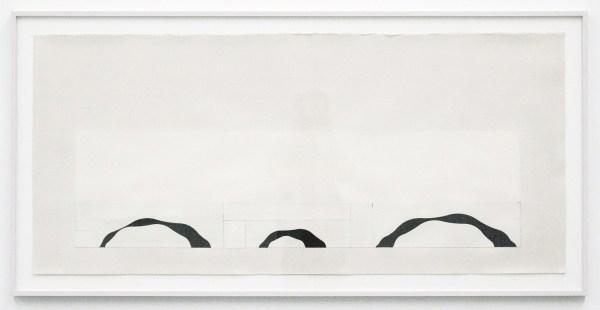 Jan Andriesse - Trois Rivieres - Oostindische inkt op papier
