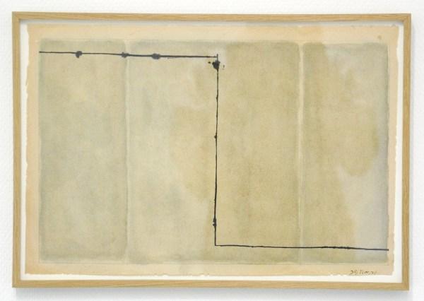 Jan Andriesse - Zonder Titel - Inkt op papier