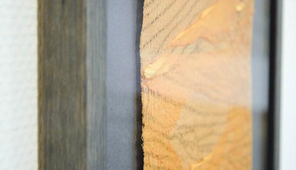 Jan Koen Lomans - Transition I, II & III - 113x33cm Gesmolten polyester op doek (detail)