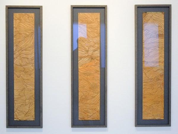 Jan Koen Lomans - Transition I, II & III - 113x33cm Gesmolten polyester op doek