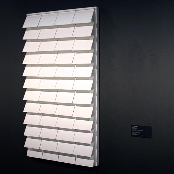 Jan Schoonhoven - Relief R85-3 - 122x66cm Papier mache en muurverf op karton