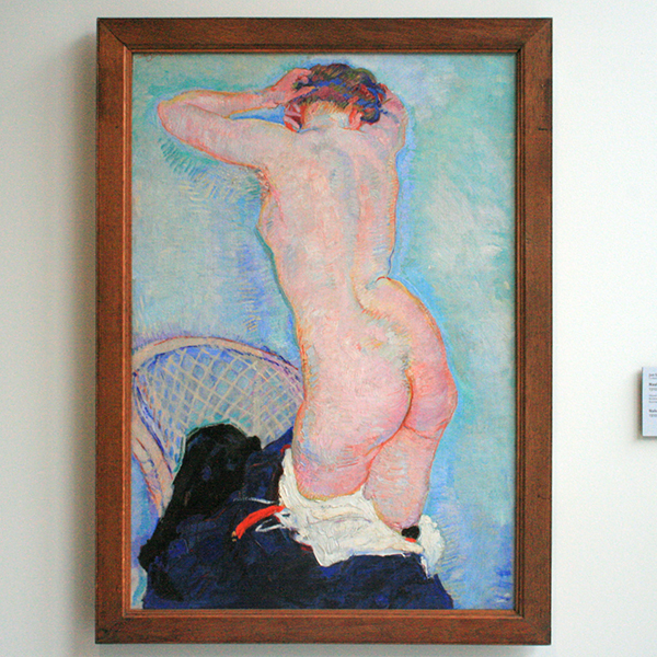 Jan Sluijters - Naakte Vrouw - Olieverf op doek