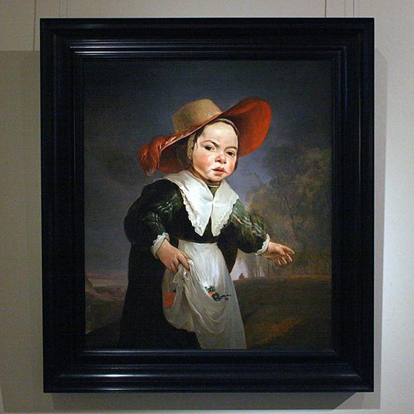 Jan Weenix - Portret van een Kind - Olieverf op doek (onbekend jaartal)