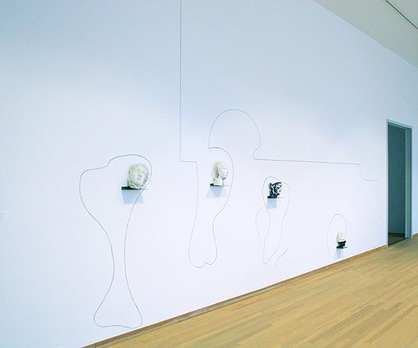 Jannis Kounellis - Zonder Titel - Diverse materialen 1979