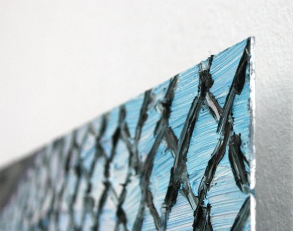 Jaring Lokhorst - NYC - 31x42cm Olieverf op aluminium (detail)