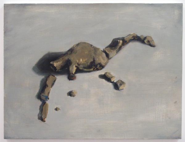 Jasper Hagenaar - Broken - 51x67cm Olieverf op paneel